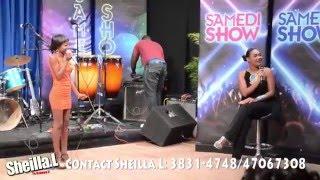Sheilla.L te Live nan Samedi Show (Tele  Pacific)