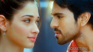 Rachaa - Ram Charan Again Challenge To Tamannaah || Racha Movie