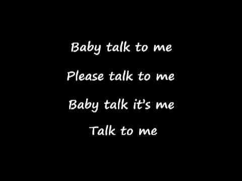 Talk to me - Yodelice (lyrics)