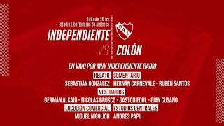 INDEPENDIENTE VS COLON SUPERLIGA En VIVO