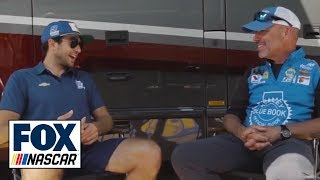 Chase Elliott and spotter Eddie D'Hondt reflect on their long history together | NASCAR ON FOX