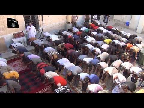 Islamic State video shows conversion of Yazidi men to Islam