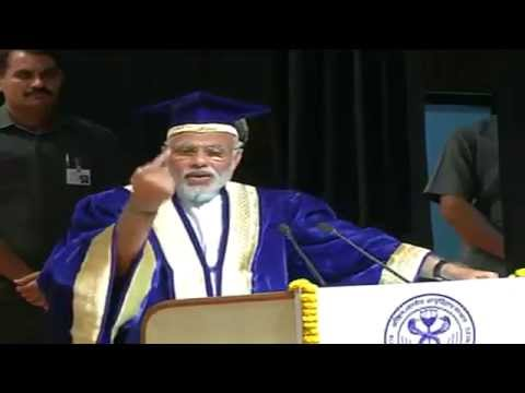PM Shri Narendra Modi addressing convocation at AIIMS : 20.10.2014