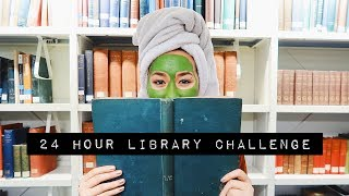Spending 24 hours in a library challenge || King's College London university X Mei-Ying Chow