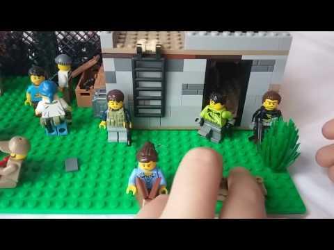 Лего как сделать лего базу от зомби видео