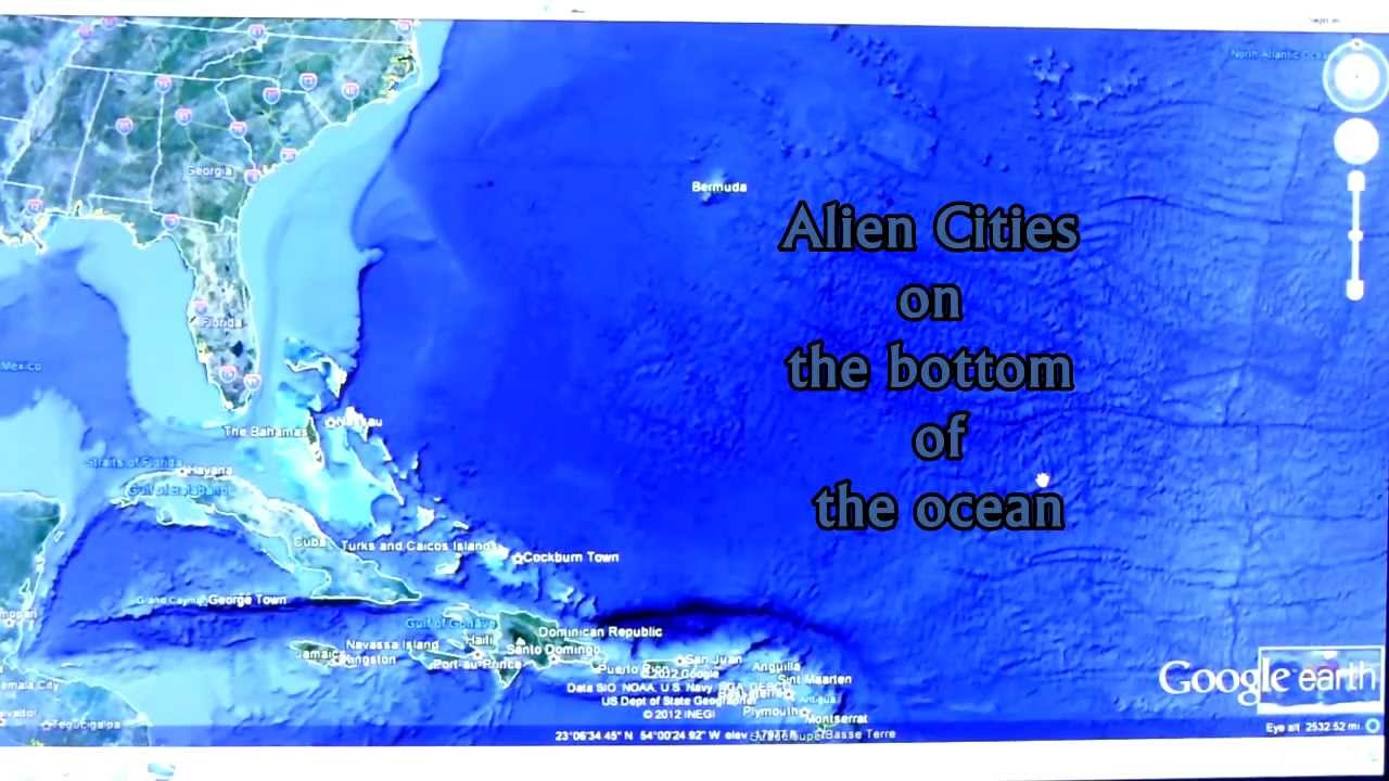 Real Underwater City real unusual underwater