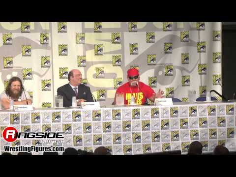 Mattel Wwe Entire Panel! - Sdcc 2014 video