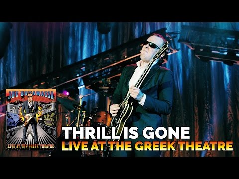 Joe Bonamassa - The Thrill Is Gone - Live At The Greek Theatre