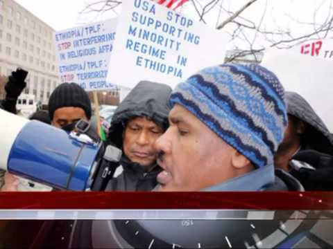 Oromo Youth, OSA and Oromo Community's Demonstration in Washington DC on Jan 25