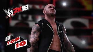 Incredible RKOs Outta Nowhere: WWE 2K18 Top 10