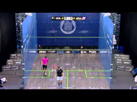 Squash : Allam British Open 2013 - Rd1 Roundup part 4