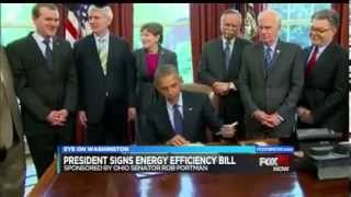 Portman's Energy Efficiency Bill Signed Into Law
