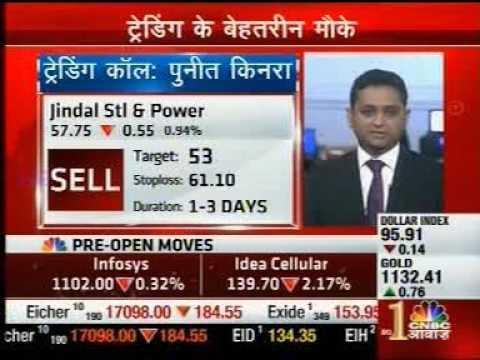 Mr. Puneet Kinra, Bonanza Portfolio sharing views On Jindal Steel & Power - CNBC Awaaz Pehla Sauda