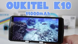 Oukitel K10 - 11000mAh Monster Unboxing
