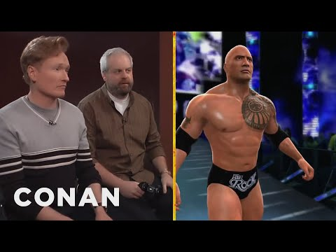 Clueless Gamer: Conan Reviews wwe 2k14 video
