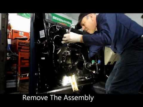 2008,2009 and 2010 Mercury Mariner /Ford Escape Window Regulator Replacing
