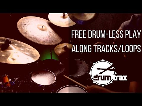 Free Drum-less Play Along Tracks/Loops - DrumTrax App