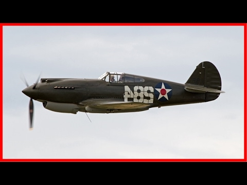 Curtiss P-40 American Fighter Aircraft - Historical Documentary