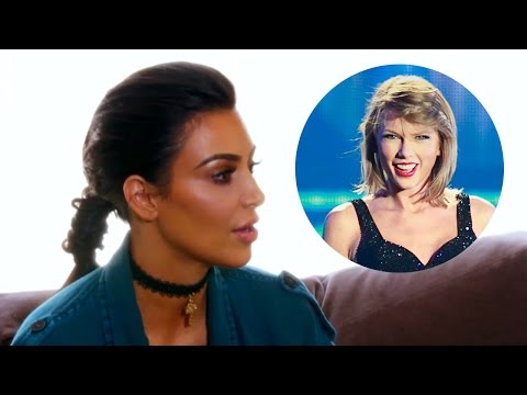 Kim Kardashian Defends Trash-Talking Taylor Swift in New KUWTK Clip