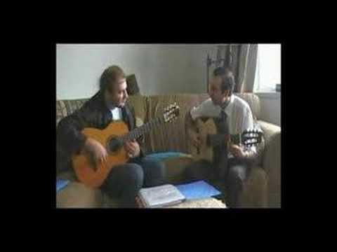 Russian Roma 7 string Guitar - Krzysztof and Vadim 4 - Orekhov