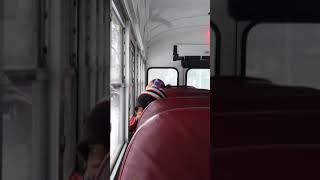 Bad kids on bus