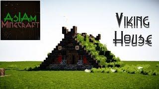 Minecraft Tutorial - Viking House by AsIAminecraft