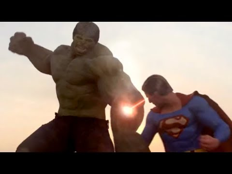 Superman vs Hulk - The Fight (Part 2) Music Videos