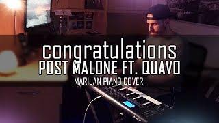 download lagu Post Malone Ft. Quavo - Congratulations  Piano Cover gratis