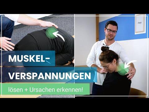 Muskelverspannungen lösen - Entspannung für Rücken und Nacken | Übungen für den Alltag