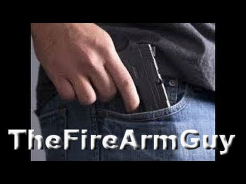 Pocket Carrying Pistols Is it Right for You? - TheFireArmGuy