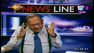 NEWSLINE TV1 Azath talks on Corruption investigation into Sri Lankan airlines with Faraz.