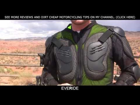 $35 TMS Armored Motorcycle Jacket Review o#o