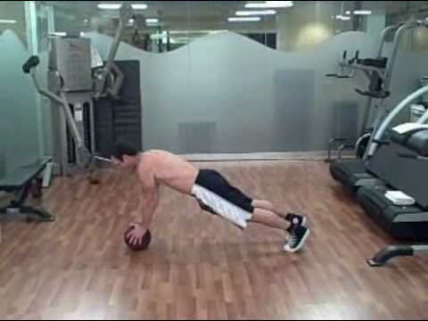 Medicine Ball Ab Workout Exercises Image 1