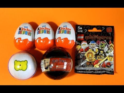 Harry Potter Gacha Moshi Monsters LEGO Minifigures Kinder Surprise Monsters University Disney Pixar