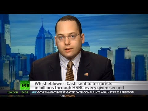 'Terrorism funding just one thing banks getting away with' - HSBC whistleblower