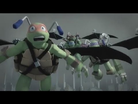 TMNT (2012) Movie Review - Booyaka-Showdown