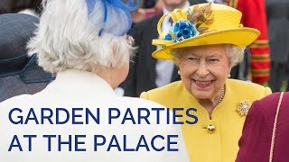 Garden Parties at Buckingham Palace: Behind the Scenes