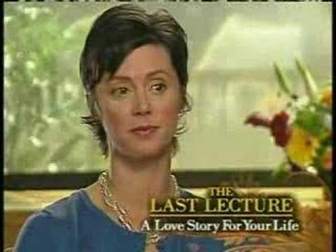 Randy Pausch (The Last Lecture) April 2008 interview part 2