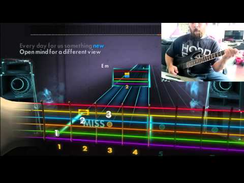 "Rocksmith | Metallica - Nothing Else Matters ""easy version"" [Rhythm Guitar]"