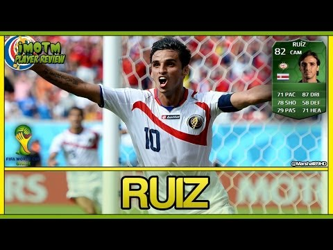 FIFA 14 UT - iMOTM Ruiz || World Cup iMOTM Ultimate Team 82 Player Review + In Game Stats