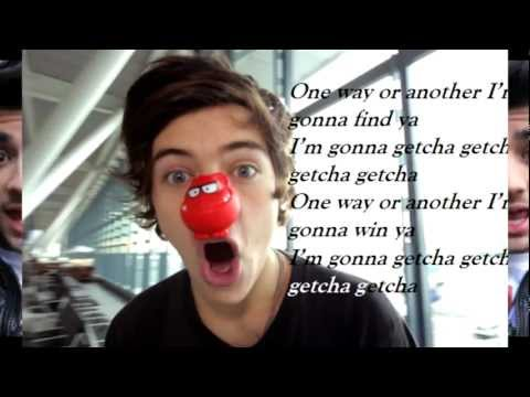 One Direction - One Way Or Another (song + Lyrics) video