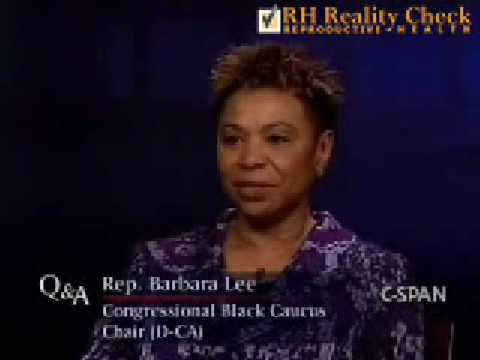 Rep. Barbara Lee Discusses Abortion, Sex Education And Women's Rights video