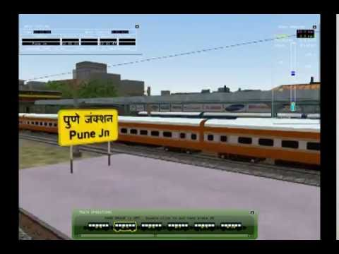 MSTS Indian railways pune to dehu road route