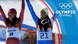 Shared Skiing Gold in Sochi 2014 Between Tina Maze and Dominique Gisin   Olympics on the Record