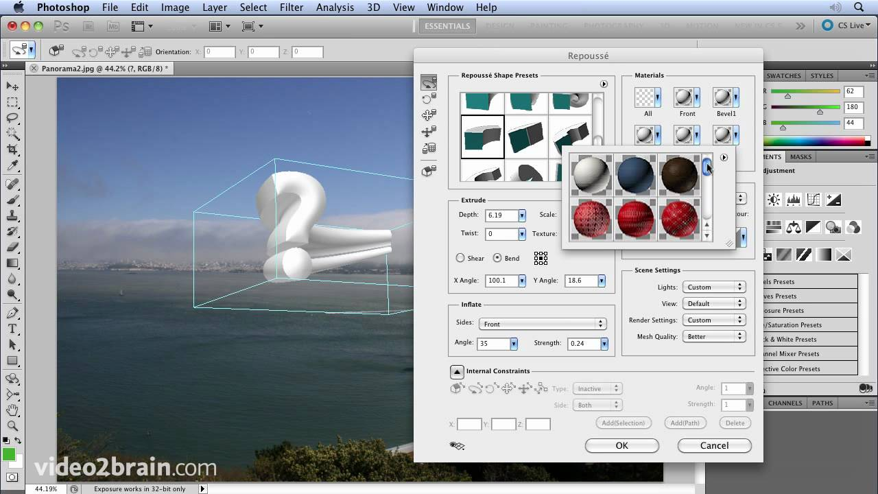 photoshop 3d tutorial