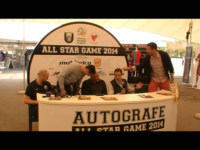 Declaratii conferinta de presa ALL STAR GAME