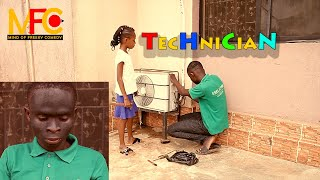 TECHNICIAN - AMAZING TECHNICIAN (Mind Of Freeky Comedy ) Episode 60