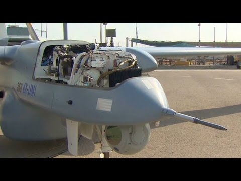 Israel shows off new drone technology