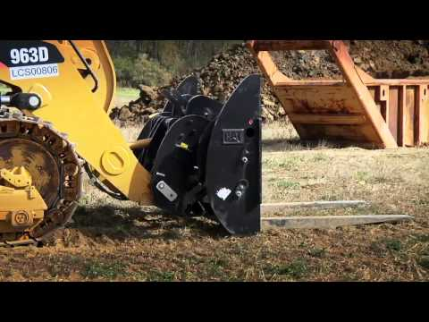 D-Series Track Type Loader Features