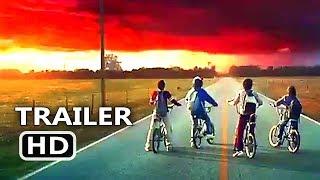 STRANGER THINGS Season 2 New Trailer Tease + Motion Poster (2017) Netflix TV Series HD